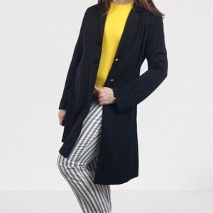 CABI Black Long Duster Style 102
